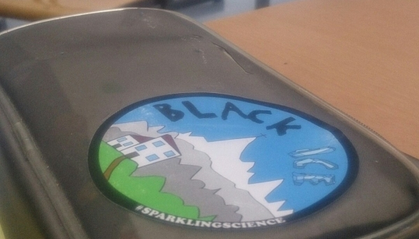 Sparkling Science Logo Sticker